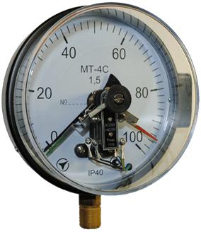 электроконтактный вакуумметр